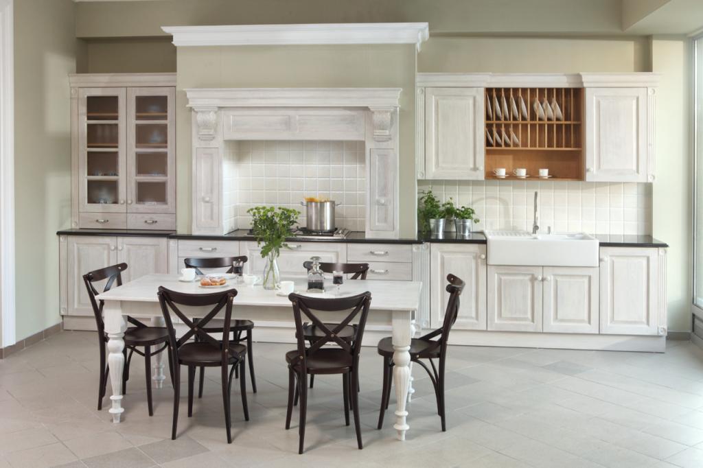 Real Wood Kitchen  Traditional Wooden Kitchens -> Kuchnie Angielskie Bialystok